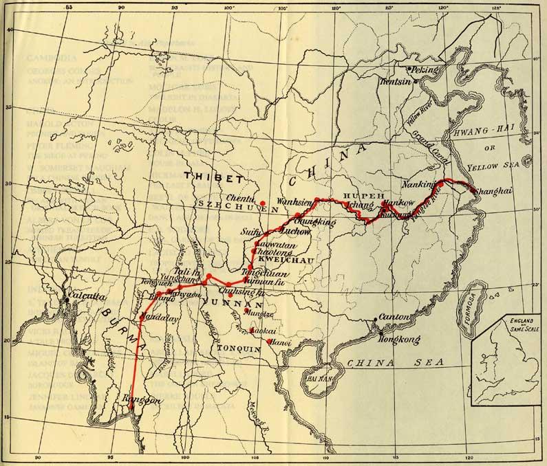 缅甸果敢地图_缅甸英文地图